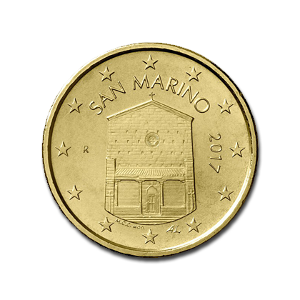 San Marino 2 Euro Commemorate Card 500 years from death of Pinturicchio 2013